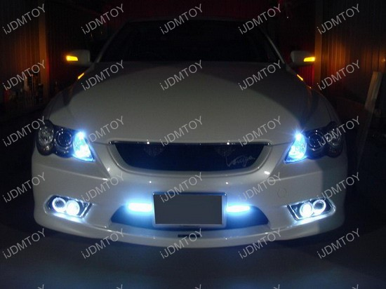 Toyota - Mark - X - Reiz - fog - lights - daytime - running - lights